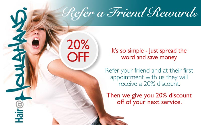 Refer a Friend offer